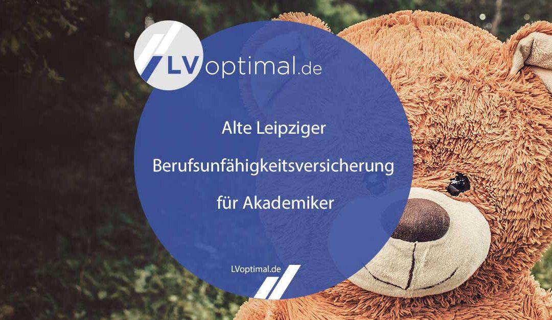 Alte Leipziger Berufsunfähigkeitsversicherung für Akademiker